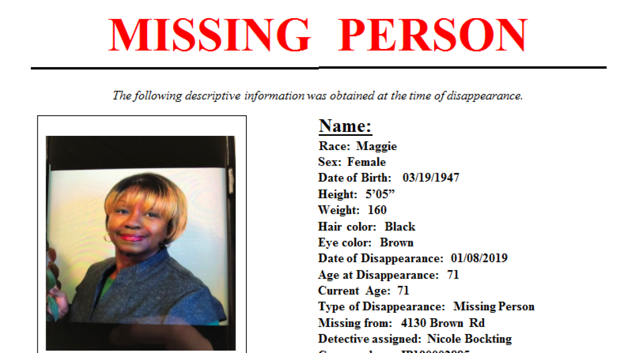IMPD has found missing deaf woman with dementia
