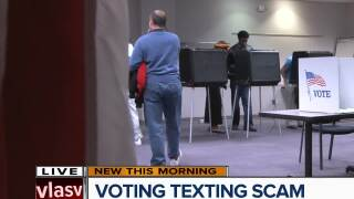 Voting texting scam