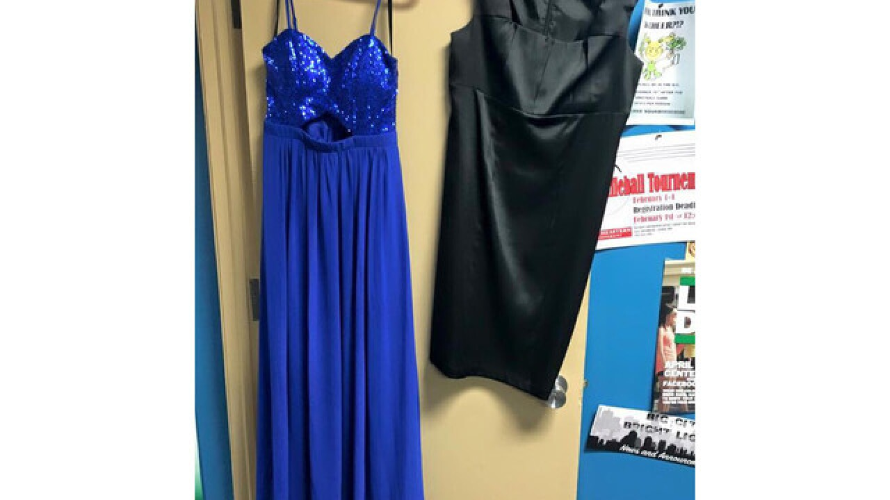 PIC: 'Prom on a Penny' offers discounted dresses