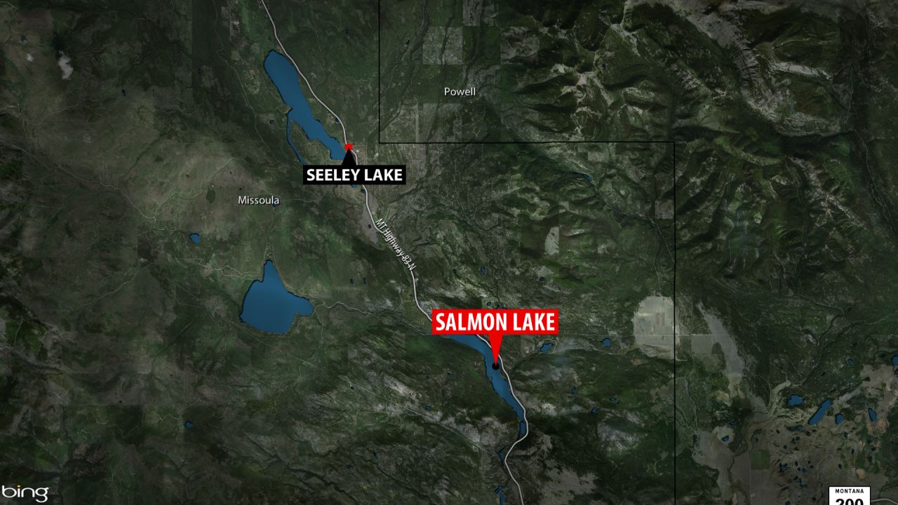 A body was recovered from Salmon Lake on Monday night after authorities received a report of a submerged vehicle.