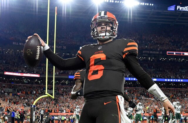 Mayfield doesn't regret actions, says not 'cookie-cutter' QB