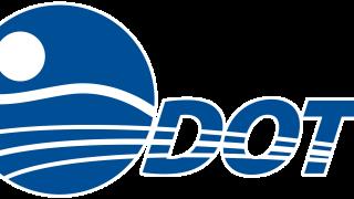 ODOT Logo Blue No Text White Lines White Outline