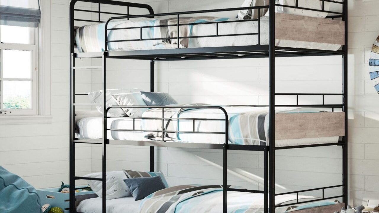 Get a triple bunk bed for just $295 on Walmart.com