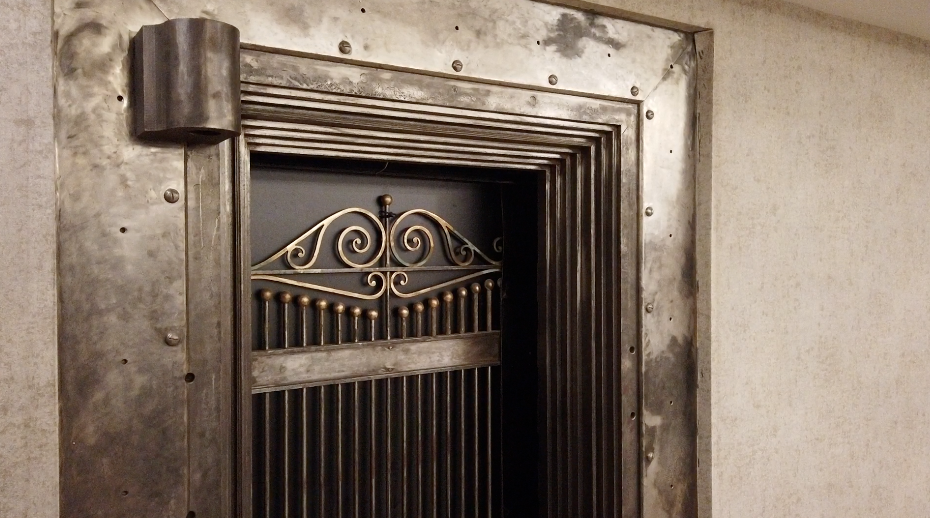 Former bank vault in TownePlace Suites