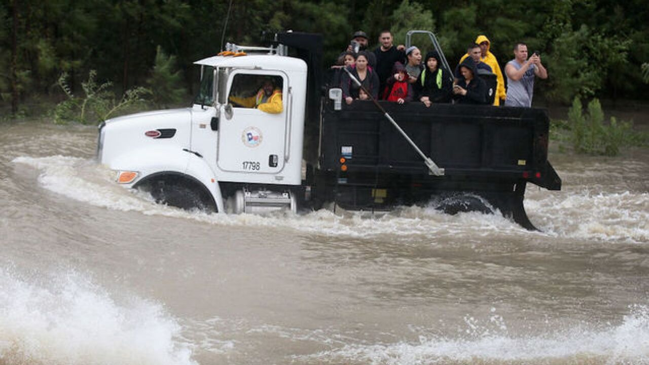 Harvey's devastating impact by the numbers