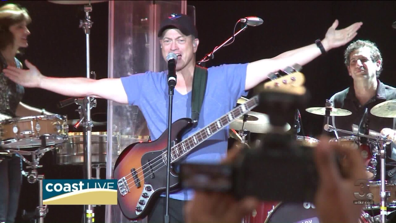 Gary Sinise talks with us about helping veterans on Coast Live