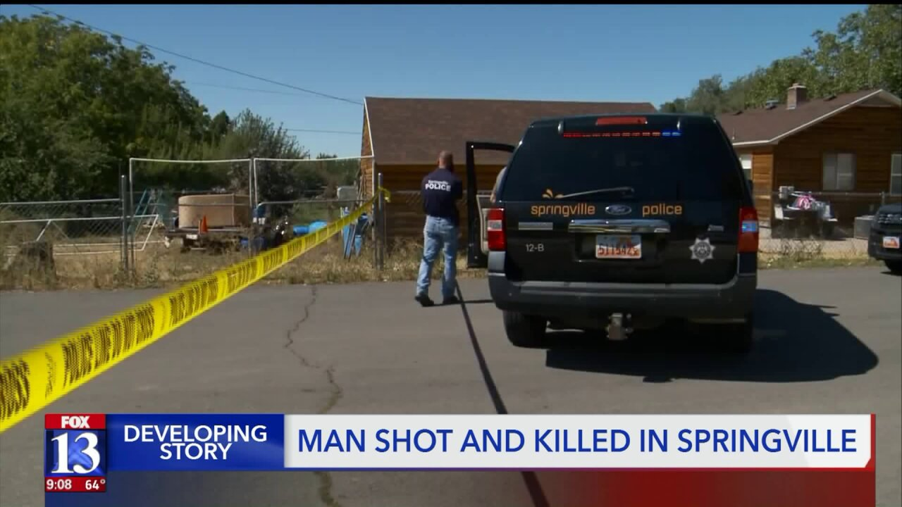 Springville Police investigating after man found dead with gunshot wounds overnight