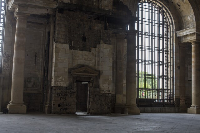 PHOTO GALLERY: Detroit train station's past, present and future