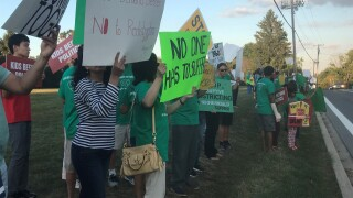 Howard County School redistricting protest