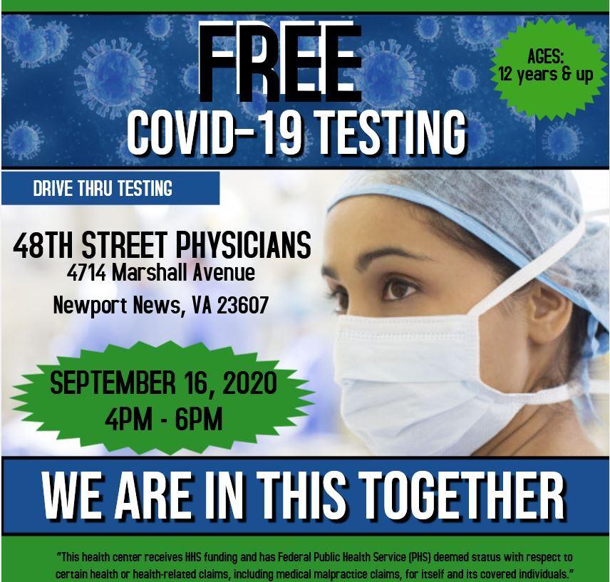 FREE COVID19 TESTING - SEPT 16, 2020 (English Version).JPG