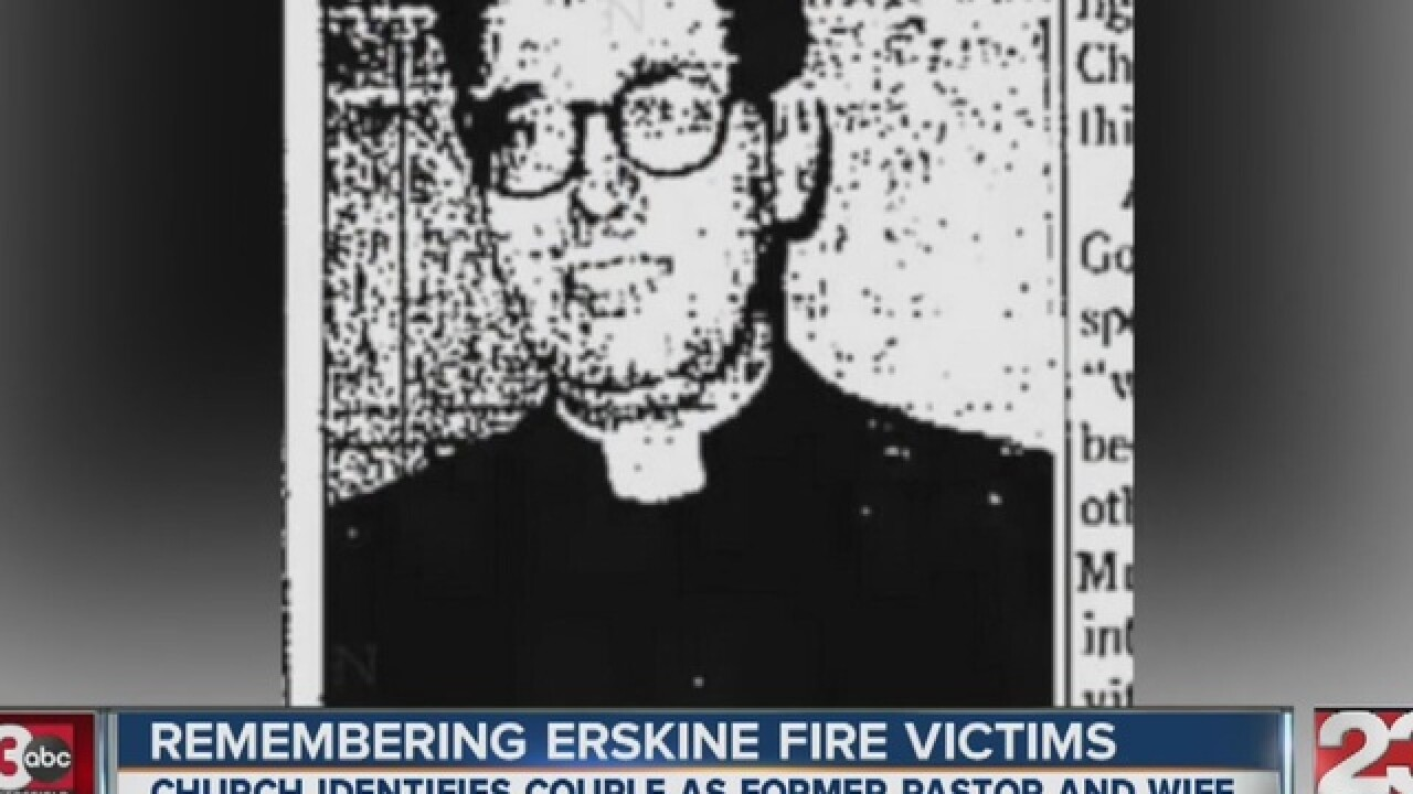 Victims of Erskine Fire identified
