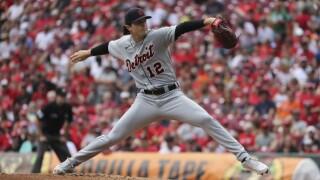 Casey Mize Tigers Reds Baseball