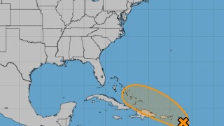Tropical wave has 40 percent chance for development in next five days