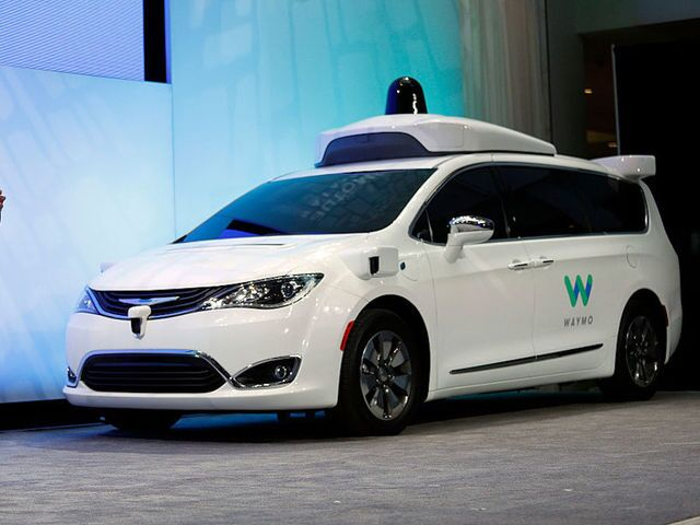 Photos: Waymo driverless taxis to be on road