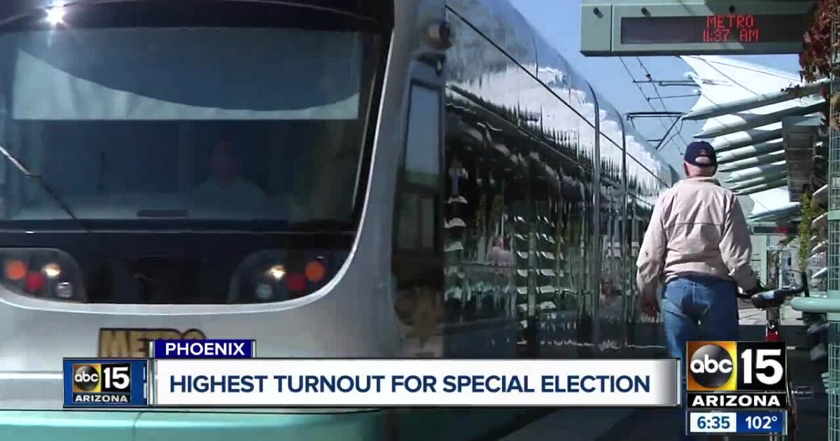 Tuesday's special election shattered Phoenix turnout records