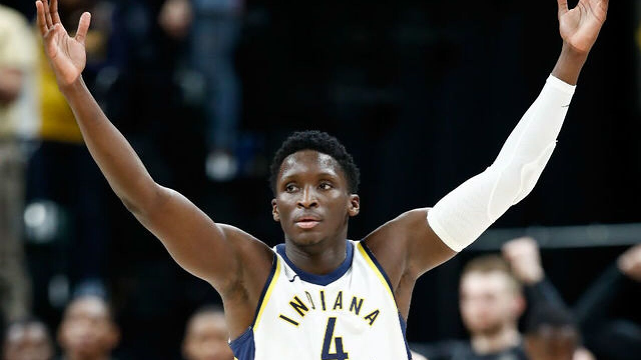 Pacers finish with a flourish, run past Heat 110-102
