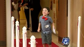 Driscoll Children's Hospital holiday cards revealed