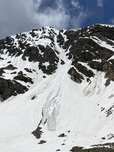 Torreys Peak avalanche June 2021
