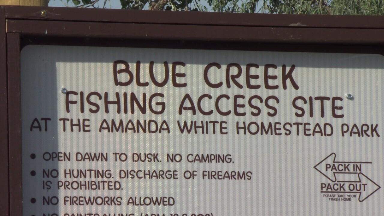 Blue Creek Fishing Access Site.jpg
