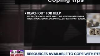 Coping with trauma after a shooting