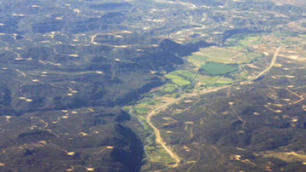 Study: Most sources of methane hot spot are gas facilities