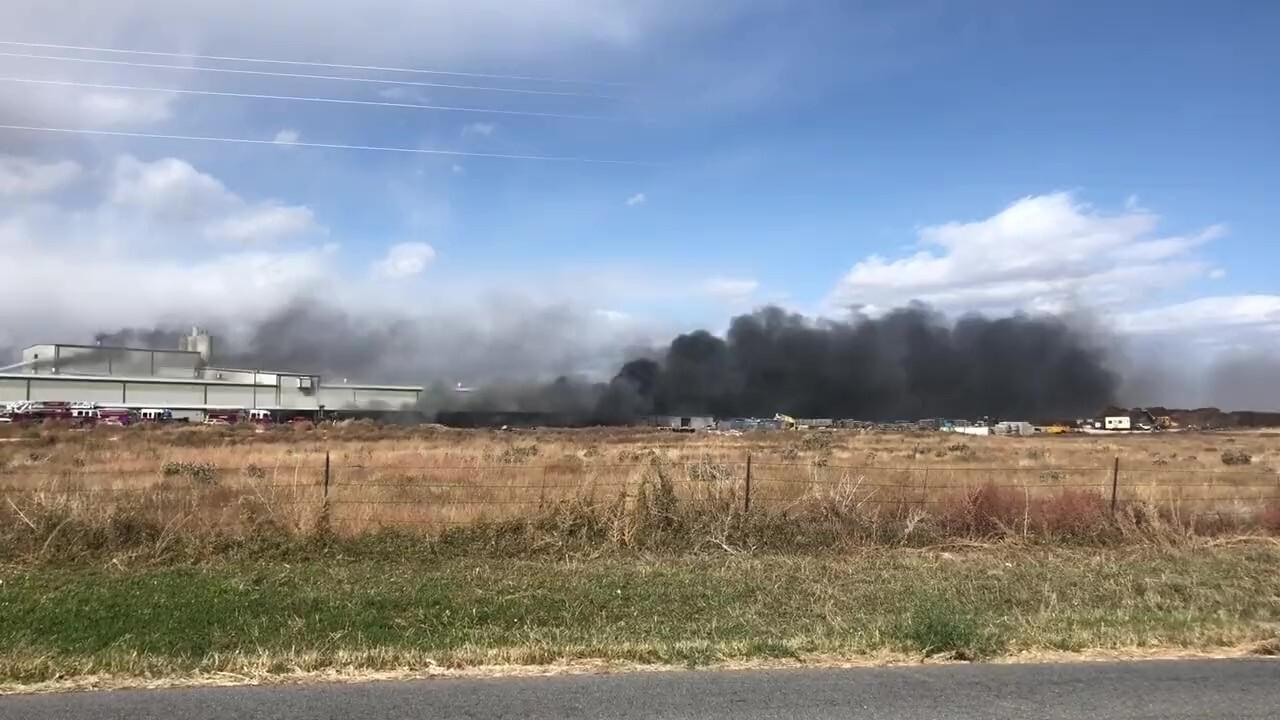 Fire at the Vossloh Plant in Pueblo
