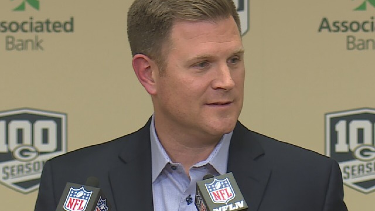 New Packers GM Brian Gutekunst talks NFL Draft, draft philosophy