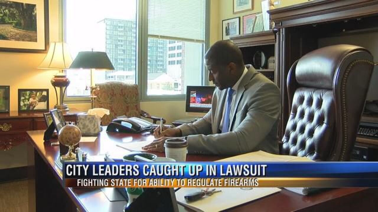 City Leaders Caught Up in Lawsuit