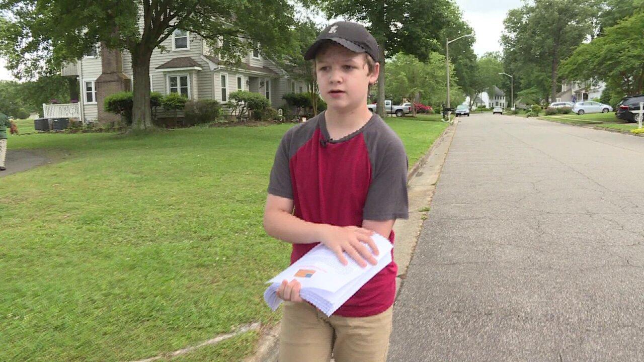 Chesapeake boy takes action to spreadpatriotism