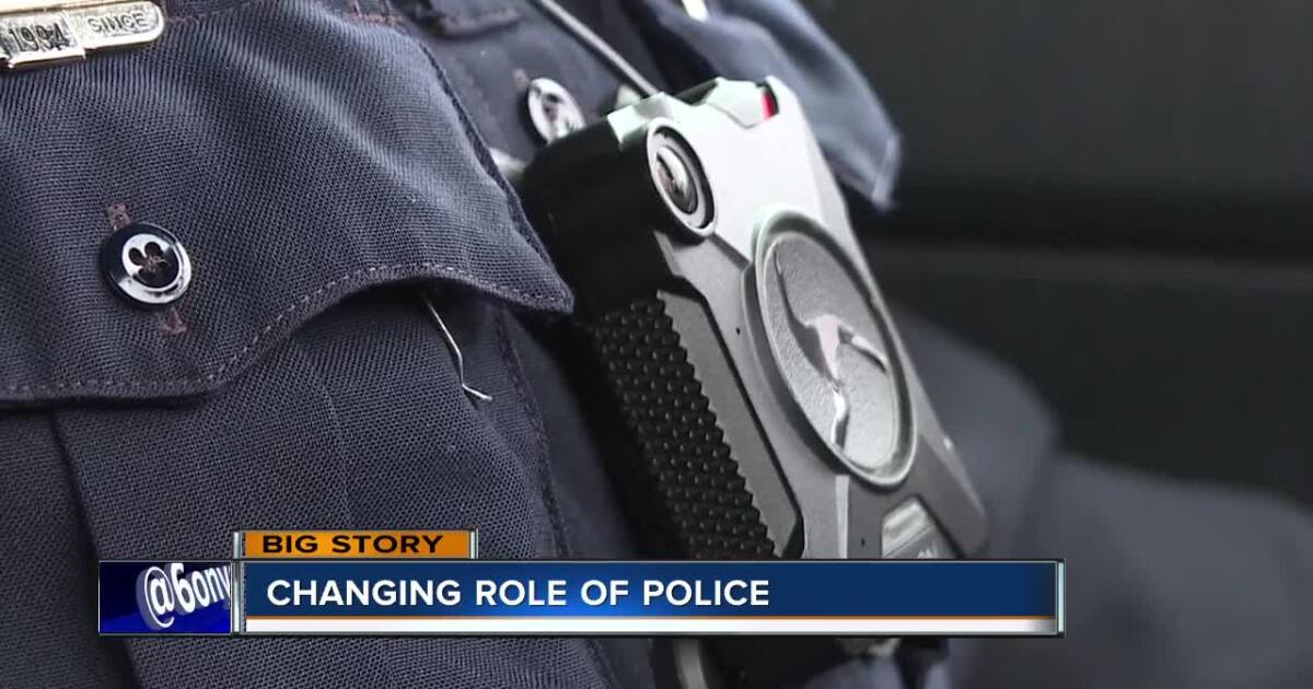 Policing with Patience; Role of police officers is changing