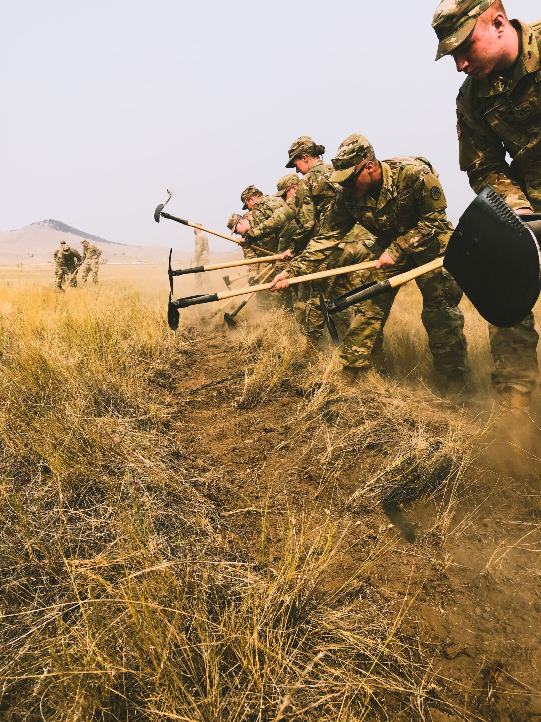 Florida wildland firefighters help train 500+ Montana National Guard as wildfire activity increases