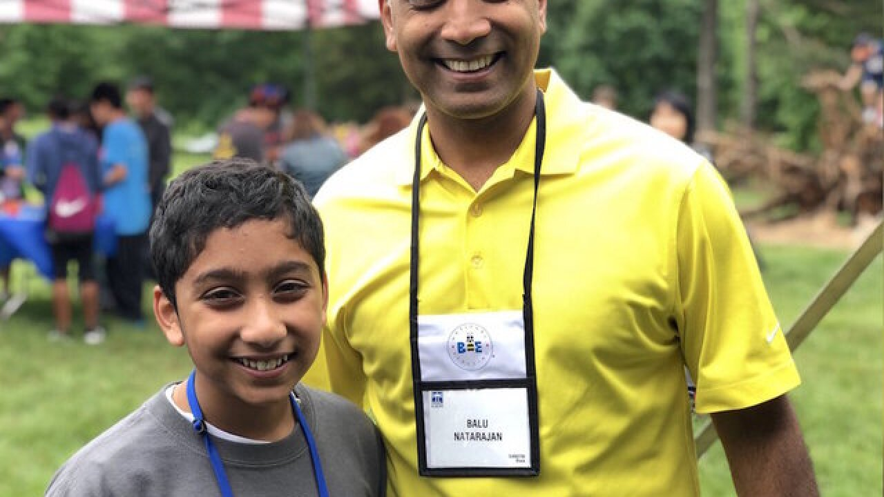 12-year-old competes in Spelling Bee 33 years after his father was crowned champion