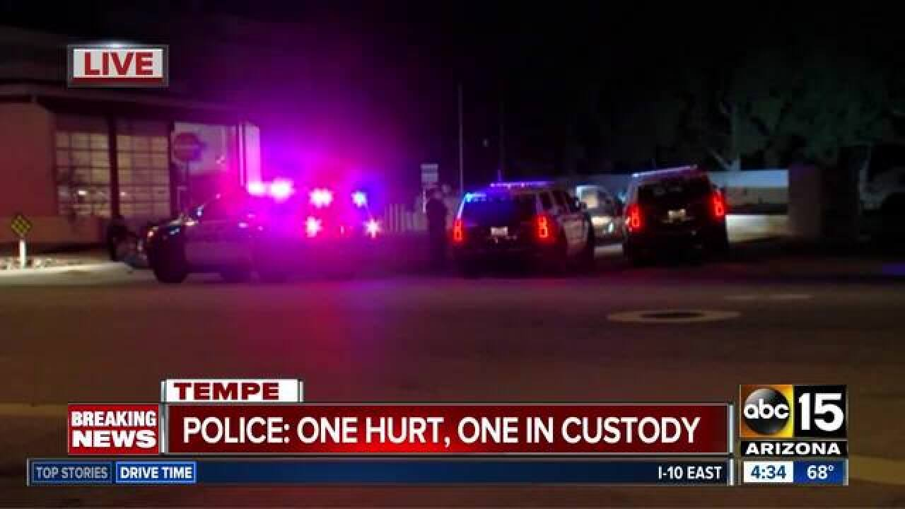 PD: 1 shot, 1 detained after UPS lot shooting