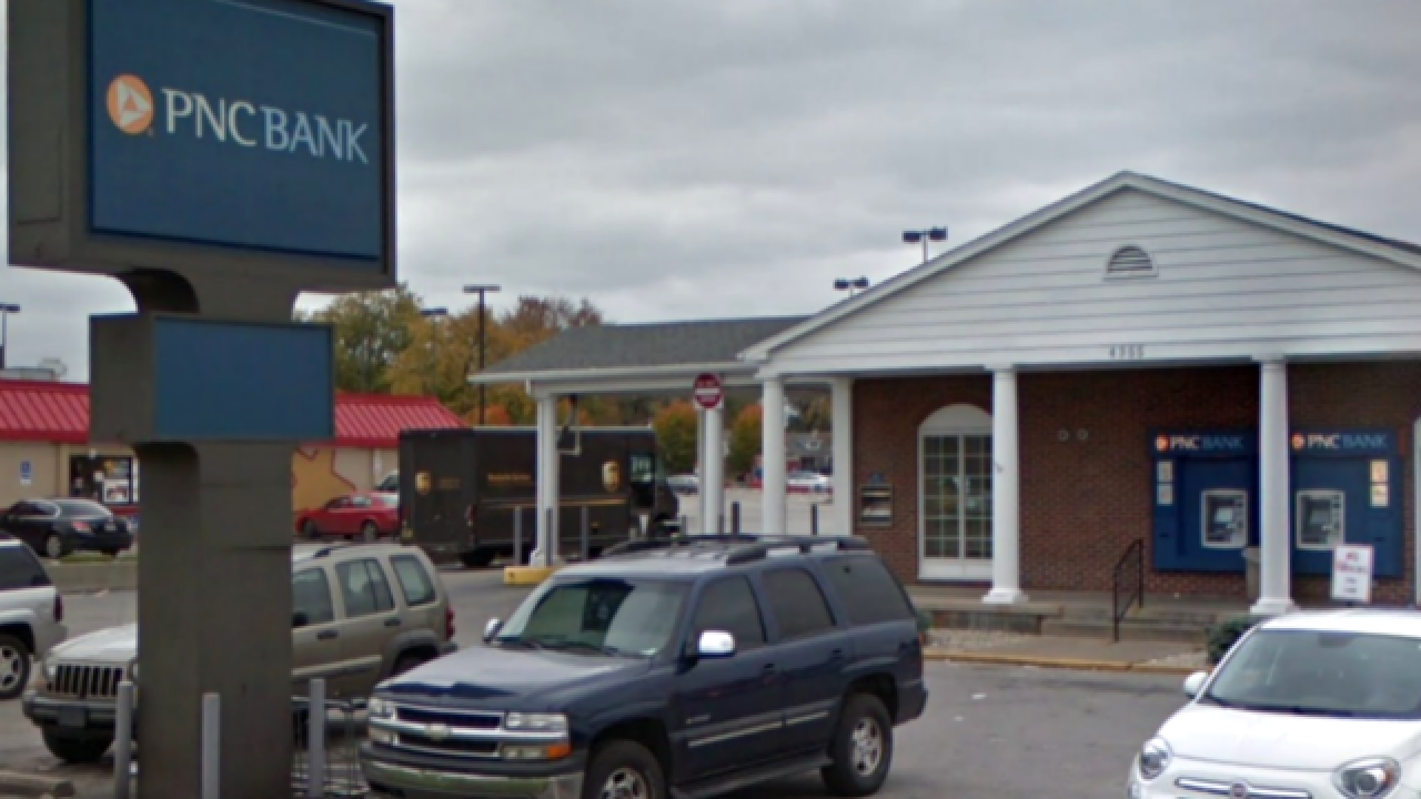 Disgruntled customer arrested after PNC Bank bomb threat