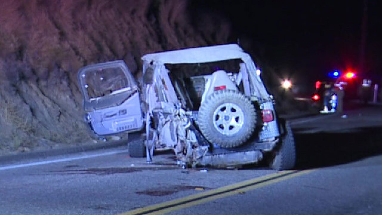 Teen killed in Alpine car crash