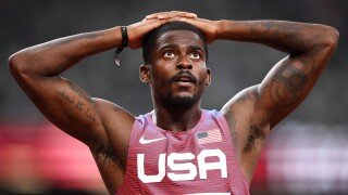 Trayvon Bromell knocked out of Olympic 100m final in semis