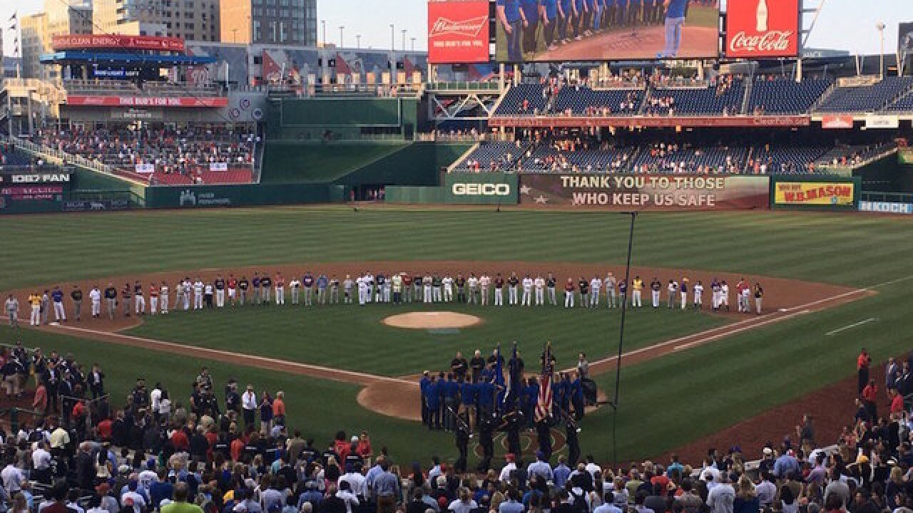 Ryan and Pelosi back 'Team Scalise' at congressional baseball game