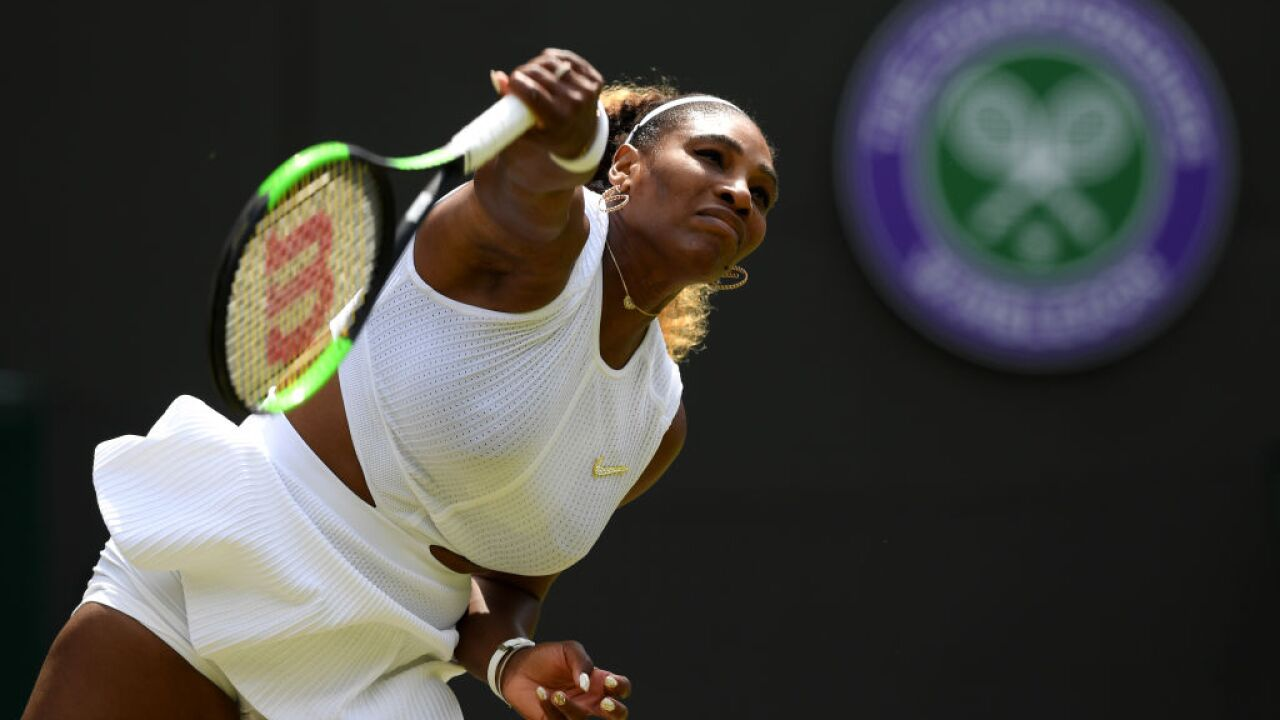 Serena Williams fined $10,000 for damaging Wimbledon cour