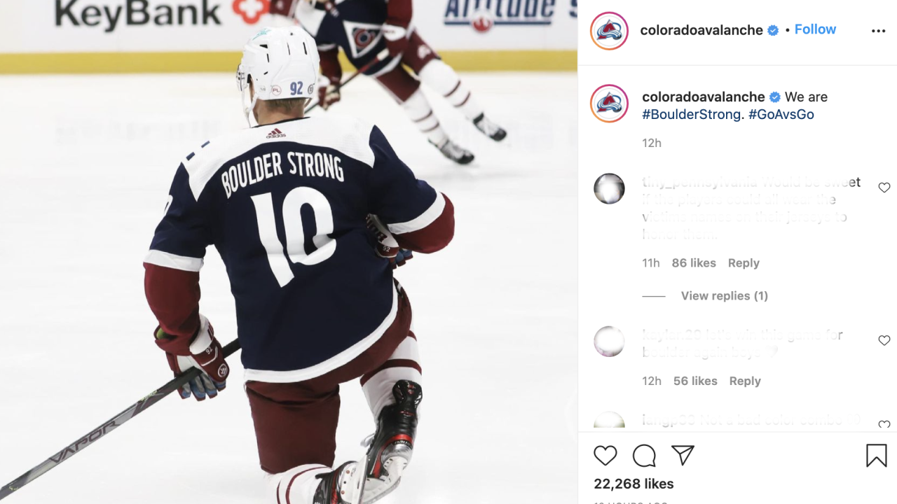 Boulder Strong jerseys_Avalanche