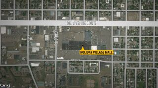 North/south traffic will be blocked on 9th Street at 10th Avenue South on Tuesday