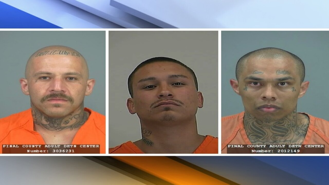 Officer stabbed by inmates at Pinal County Jail