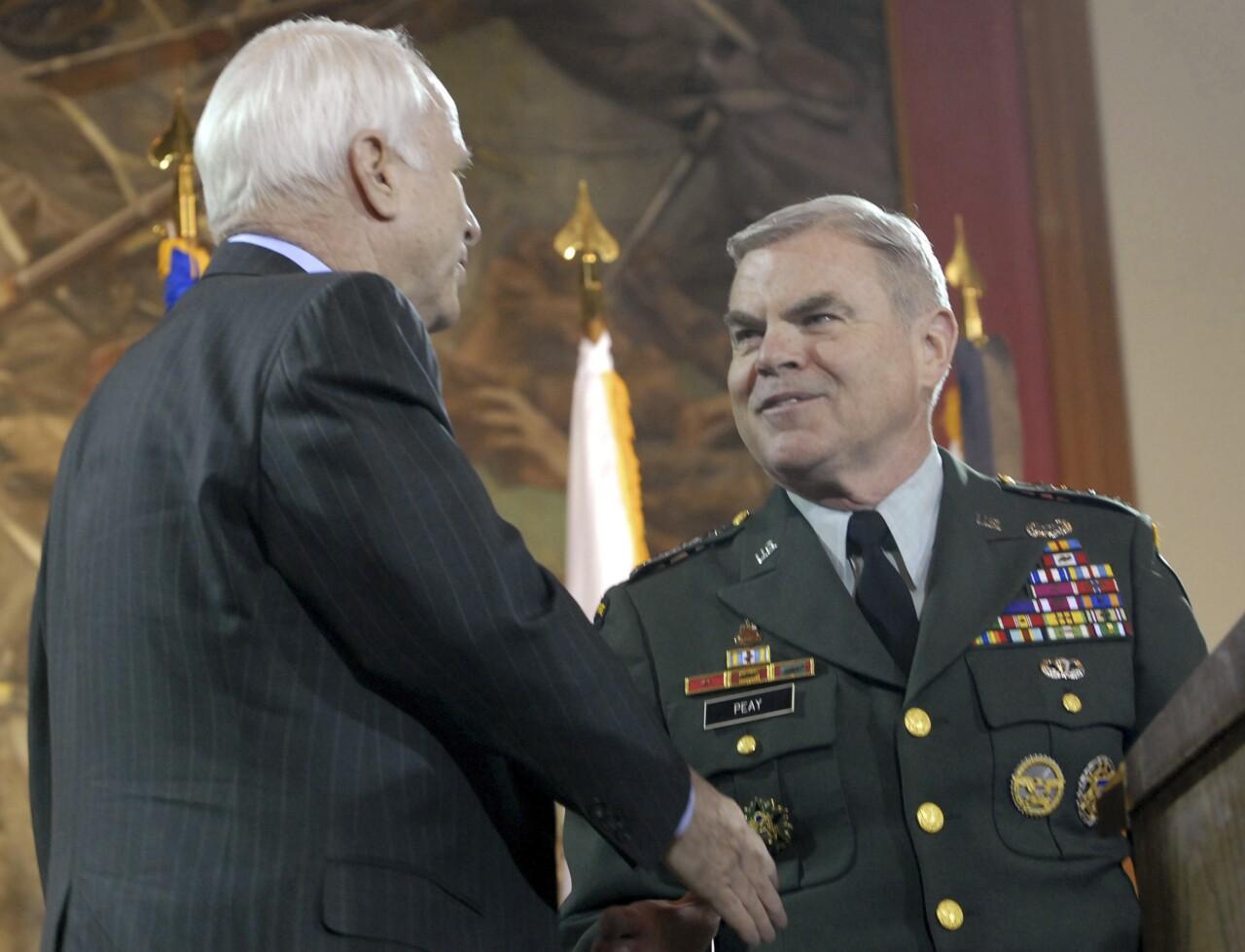 John McCain, Binford Peay