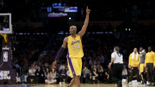 Kobe Bryant Jazz Lakers Basketball