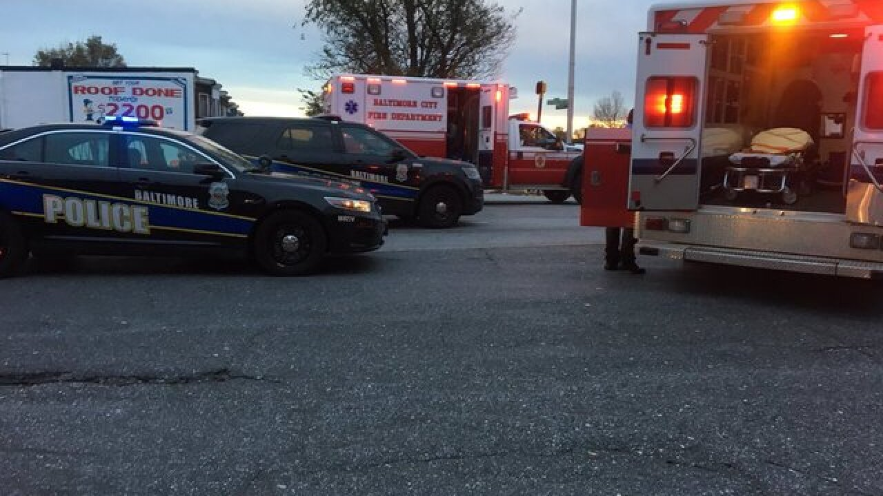 Residents evacuated after gas leak in Baltimore