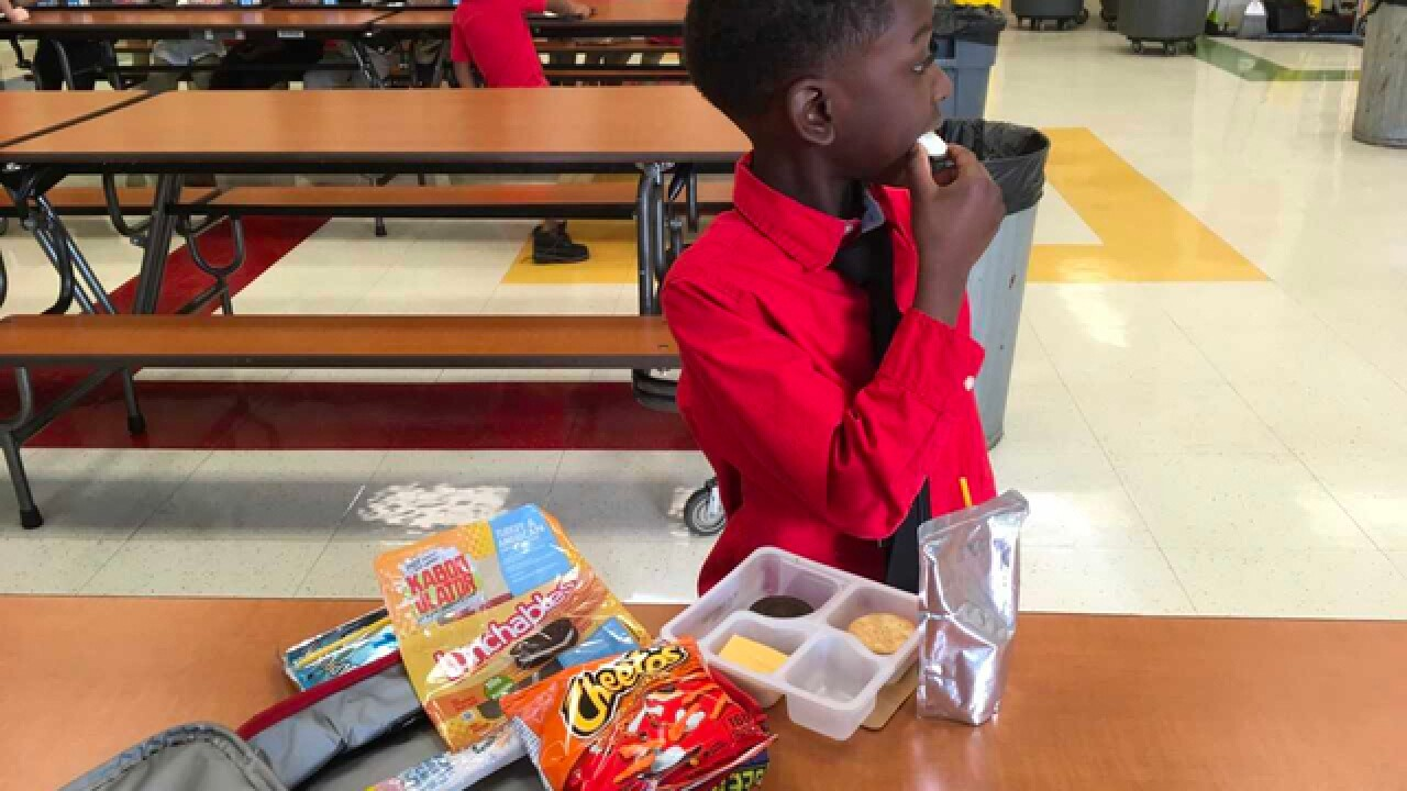 Classmates support second-grader with diabetes