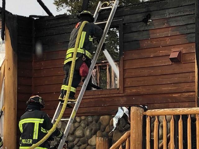 Fire Crews Douse Hot Spot