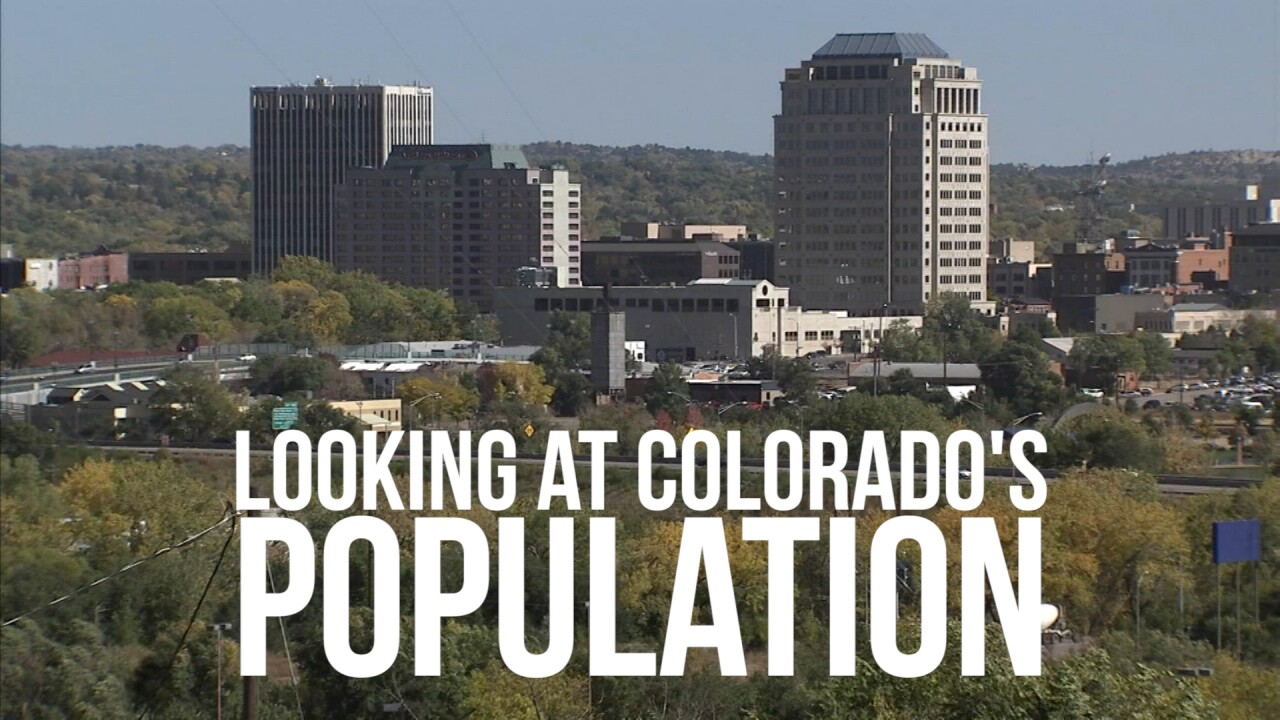 Colorado's population