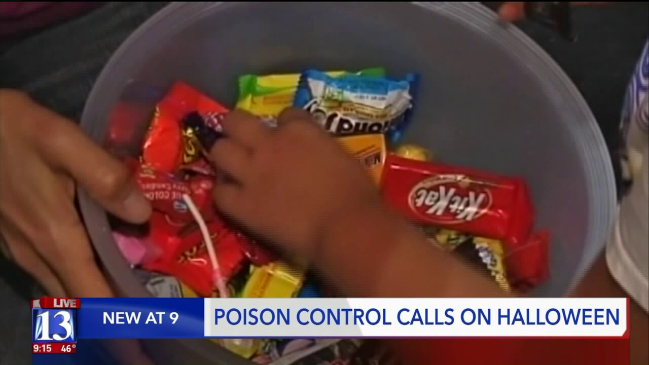 How to avoid calling Utah Poison Control Center this Halloween