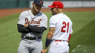 Tigers smacked again in doubleheader opener with Cardinals