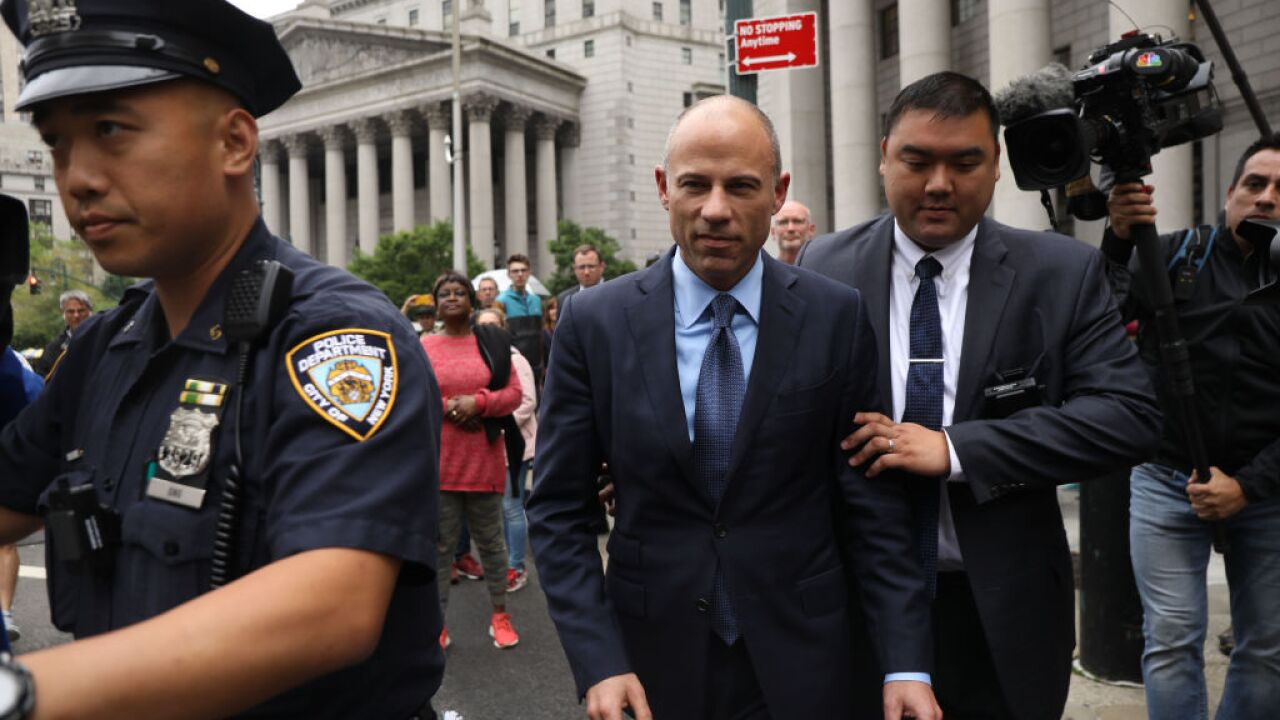 Michael Avenatti due in court on embezzlement charges
